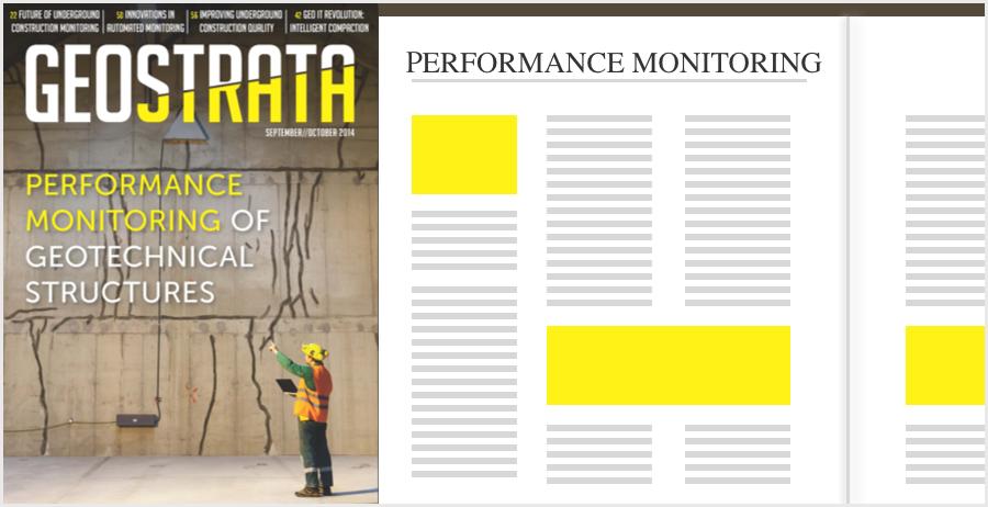 GEOSTRATA Magazine Cover